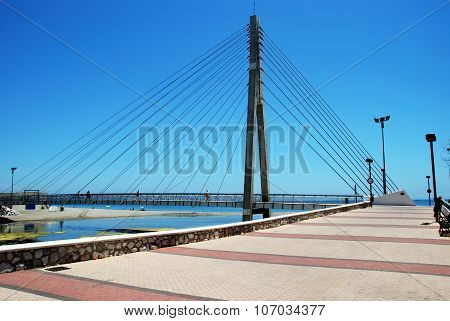 Bridge across river, Fuengirola.