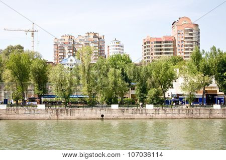Embankment In The City Of Rostov-on-don
