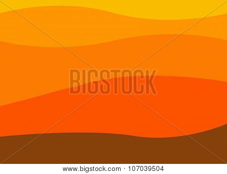 Abstract Image Of A Mountain Range