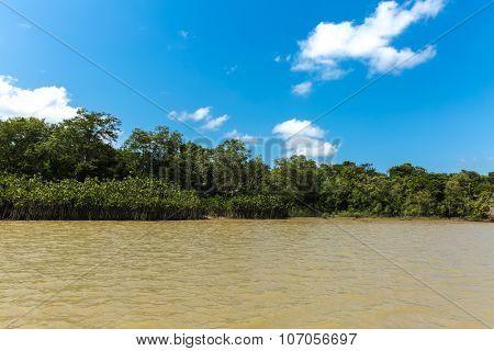 Marajo Bay in Belem do Para, Brazil
