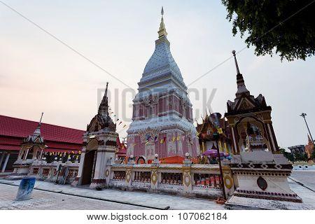 Wat Pra That Renu, Nakhon Phanom, Thailand