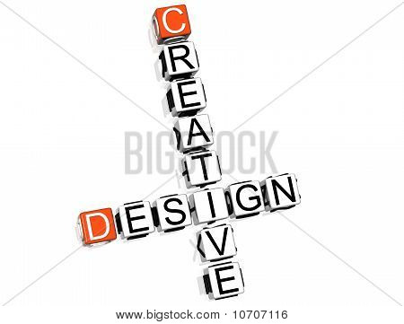 Creative Design Crossword