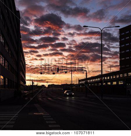 HELSINKI, FINLAND - NOVEMBER 2