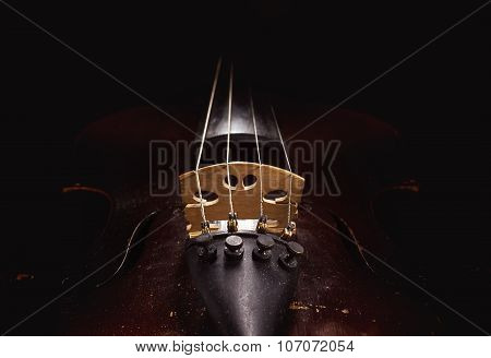 Old Dusty Violin Details