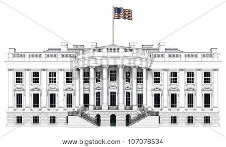 White House South View