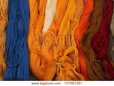 needlecraft embroidery threads