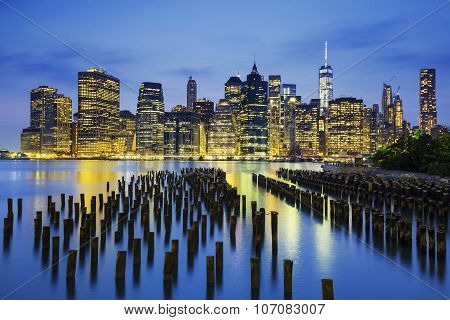 Famous View Of New York City