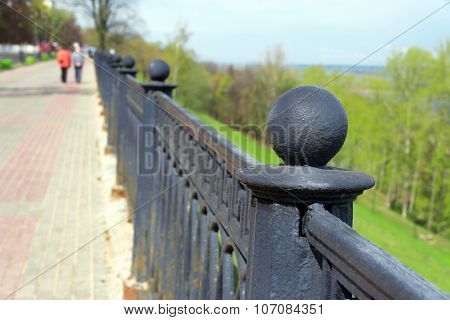 Fencing Of Embankment