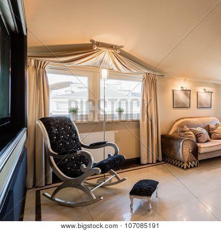 Big exclusive family room