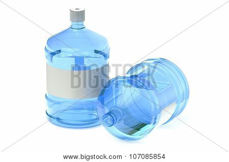 Two Big Bottles Of Water