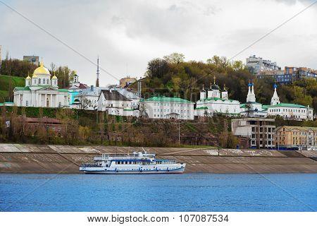 View Of Annunciation Monastery In Nizhny Novgorod