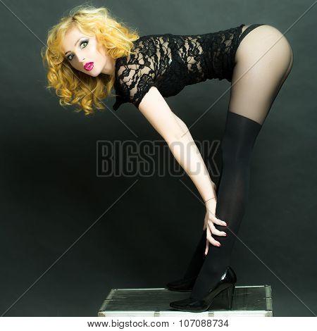 Sexy Retro Woman
