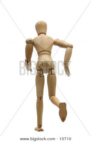 Running Mannequin Back