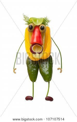Funny Goblin From Pepper