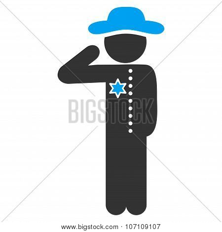 Human Figure Officer Icon