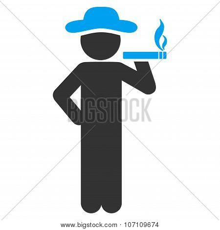 Smoking Male Icon