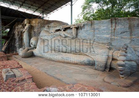 Gal Viharaya Buddha Statues