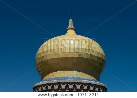 Ceramic Dome of the Pena National Palace