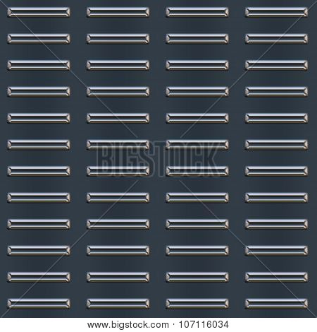 Bumped Metal Plate Pattern