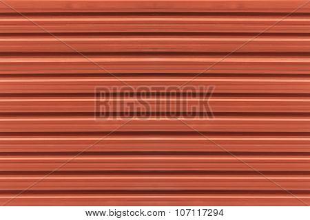 Red Zinc Texture
