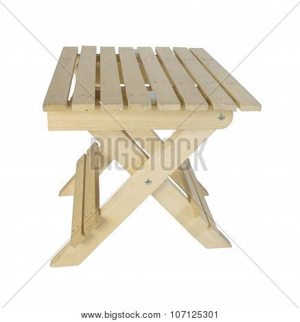 Foldable Wooden Bench