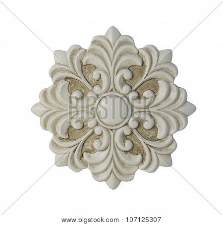 Floral Decorative Medallion