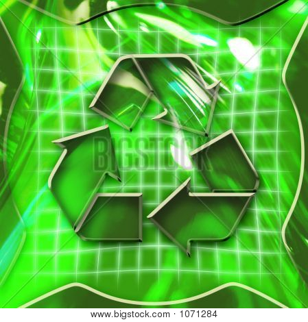 Recycling Icon Activated