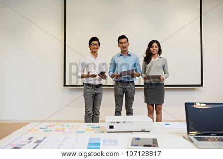 Presenting project