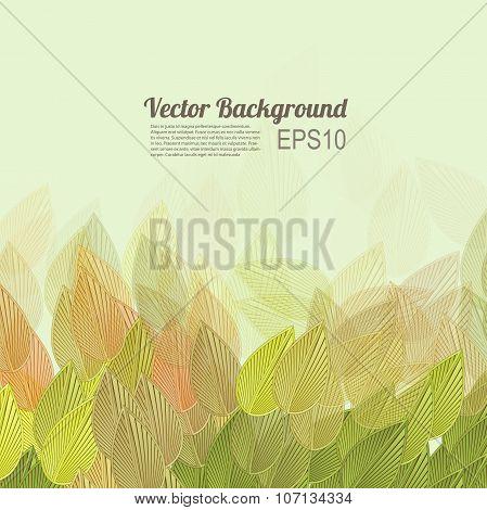 Vector stylish trendy background