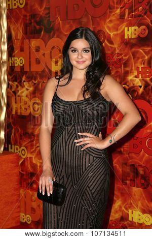 LOS ANGELES - SEP 20:  Ariel Winter at the HBO Primetime Emmy Awards After-Party at the Pacific Design Center on September 20, 2015 in West Hollywood, CA