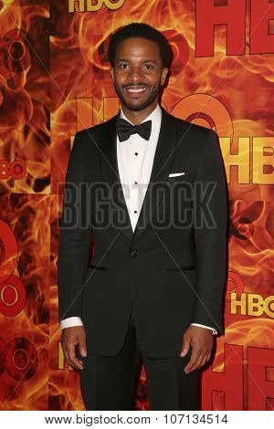 LOS ANGELES - SEP 20:  Andre Holland at the HBO Primetime Emmy Awards After-Party at the Pacific Design Center on September 20, 2015 in West Hollywood, CA