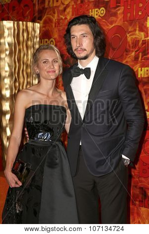 LOS ANGELES - SEP 20:  Adam Driver at the HBO Primetime Emmy Awards After-Party at the Pacific Design Center on September 20, 2015 in West Hollywood, CA