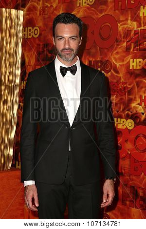 LOS ANGELES - SEP 20:  Reid Scott at the HBO Primetime Emmy Awards After-Party at the Pacific Design Center on September 20, 2015 in West Hollywood, CA
