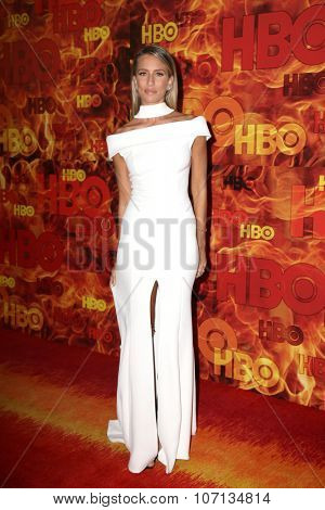 LOS ANGELES - SEP 20:  Renee Bargh at the HBO Primetime Emmy Awards After-Party at the Pacific Design Center on September 20, 2015 in West Hollywood, CA