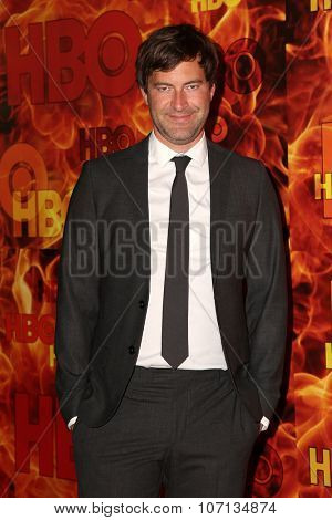 LOS ANGELES - SEP 20:  Mark Duplass at the HBO Primetime Emmy Awards After-Party at the Pacific Design Center on September 20, 2015 in West Hollywood, CA