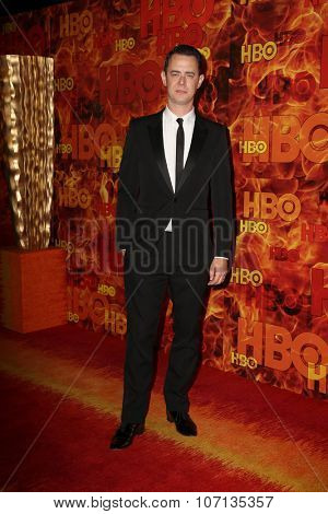 LOS ANGELES - SEP 20:  Colin Hanks at the HBO Primetime Emmy Awards After-Party at the Pacific Design Center on September 20, 2015 in West Hollywood, CA