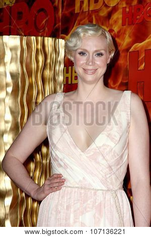 LOS ANGELES - SEP 20:  Gwendoline Christie at the HBO Primetime Emmy Awards After-Party at the Pacific Design Center on September 20, 2015 in West Hollywood, CA