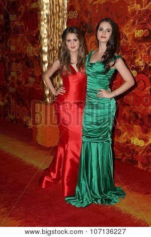 LOS ANGELES - SEP 20:  Larua Marano, Vanessa Marano at the HBO Primetime Emmy Awards After-Party at the Pacific Design Center on September 20, 2015 in West Hollywood, CA