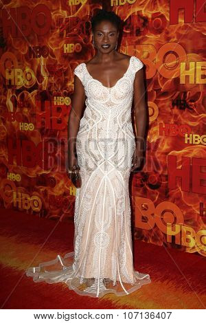 LOS ANGELES - SEP 20:  Adina Porter at the HBO Primetime Emmy Awards After-Party at the Pacific Design Center on September 20, 2015 in West Hollywood, CA