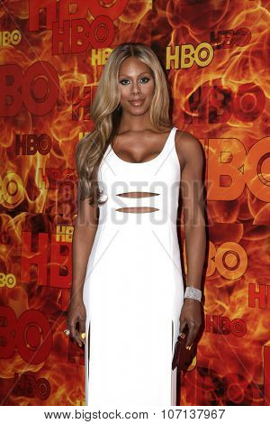 LOS ANGELES - SEP 20:  Laverne Cox at the HBO Primetime Emmy Awards After-Party at the Pacific Design Center on September 20, 2015 in West Hollywood, CA