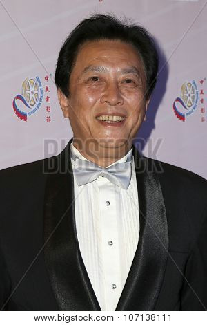 LOS ANGELES - NOV 3:  Tang Guoqiang at the 11th Annual Chinese American Film Festival Opening Night at the Ricardo Montalban Theater on November 3, 2015 in Los Angeles, CA