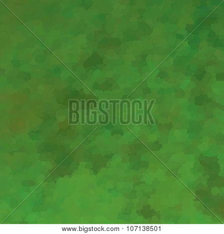 beautiful green background illustration design with elegant dark vintage grunge texture
