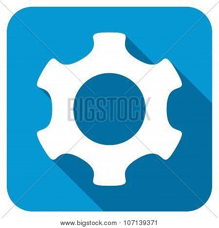 Gear Longshadow Icon
