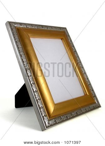 Picture Frame - Gold And Silver 01