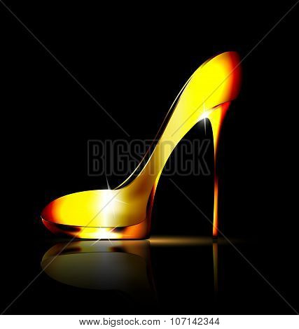 Yellow Jewel Shoe