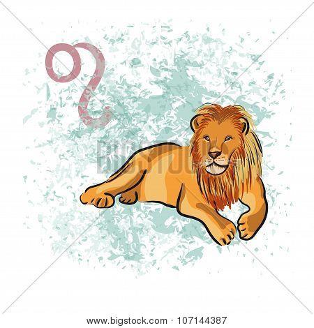 Leo sign of the Zodiac