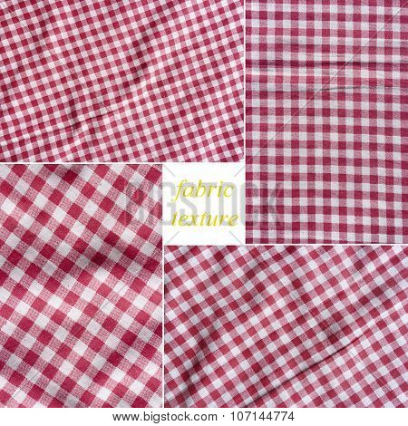 Four high quality images of fabric texture.