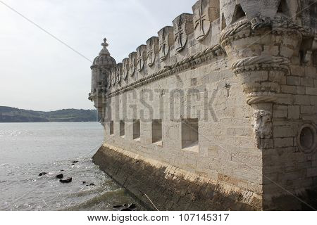 Bastion Terrace Of Belem Tower