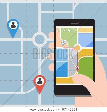 Smart Phones with GPS Navigation
