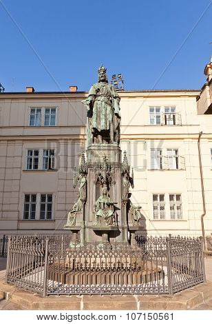 Monument (1848) To Emperor Charles Iv In Prague